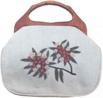 #349 Mountain Laurel Bermuda Bag