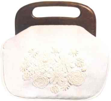 #354 White On White Bermuda Bag