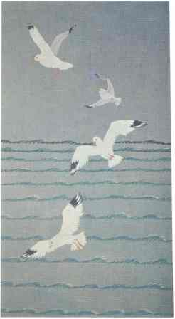 #407 Sea Gulls In Flight [Currently not available]