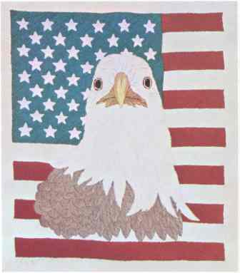 #412 Star Spangled Eagle