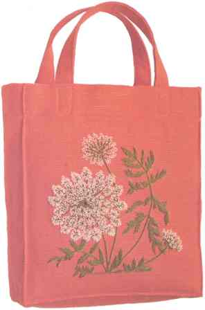 #426 Queen Anne's Lace Tote Bag [Currently not available]