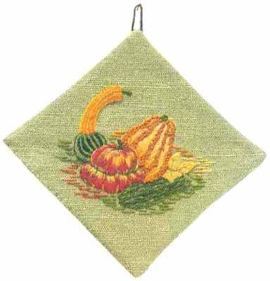 #432 Gourds And Squash Decorative Potholder