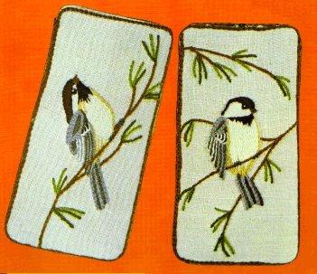 #80 - Chickadee Eyeglass Case