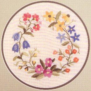 #203 - Circle of Wildflowers